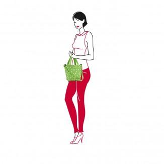 Shopper XS Spots Green Reisenthel