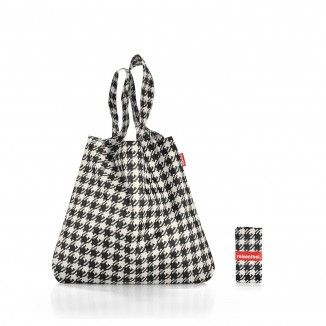 Mini Maxi Shopper Pied De Poule