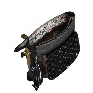 Borsa con un manico Anekke Couture Black