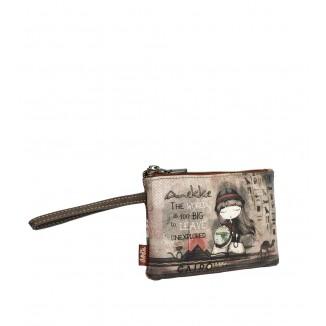 Porta monete Anekke Egypt Brown