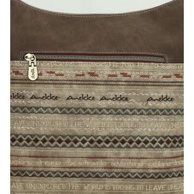 Tracolla marchio Anekke Egypt Brown