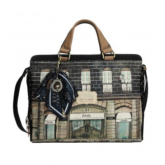Borsa porta documenti Couture Black