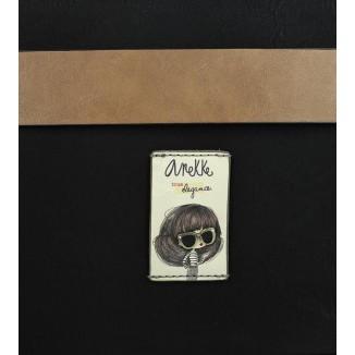 Borsa porta documenti Couture Black