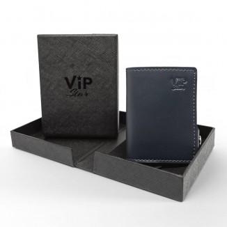 Mini Portafoglio Vip Star Classico Blu
