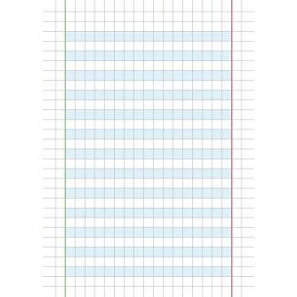 Quaderno per dislessici 10 MM
