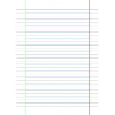 Quaderno per dislessici rigatura B