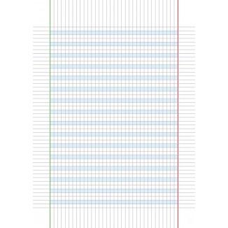 Quaderno laccato per dislessici 5 MM