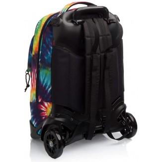 Zaino Trolley Invicta New Plug Tye & Dye