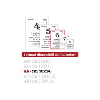 Calendario Filosofico con Supporto in